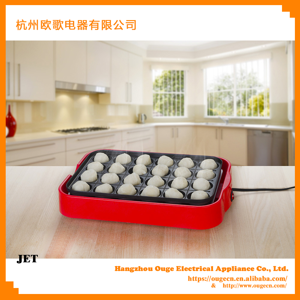 Electric Takoyaki Maker Grill Pan HP1180 with 24 Holes