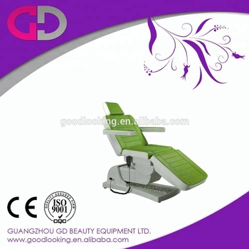 the best selling green Electric Lift Beauty Bed with factory price