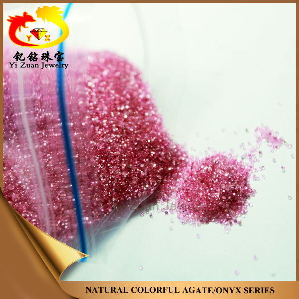 Wholesale price Untreated round shape natural pink red Ruby