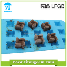 FDA/LFGB Silicone Hot Selling Been Shaped Mold Chocolate Mold
