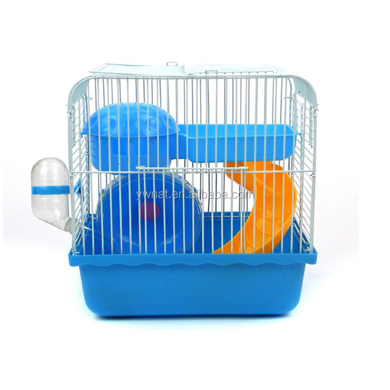 Hamster cage with new design