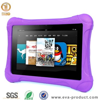Ultra light weight eva foam case cover for kindle fire hd 8 2015