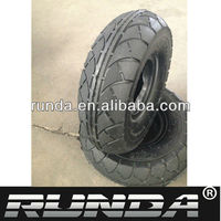 pneumatic small wheels and tires 3.50-4