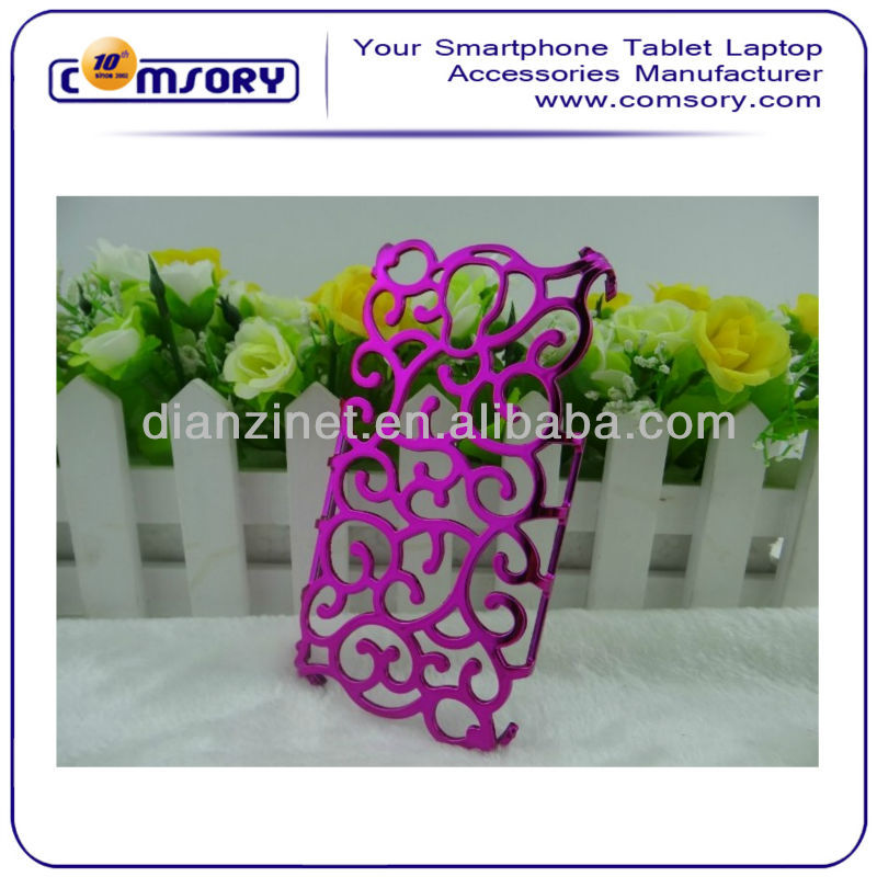 Classic Palace Hollow Flower Phone Case for Samsung Galaxy S4 i9500 Paypal Acceptable