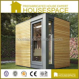 Cheap Recycled Steel Structure Prefab Wooden Guard House