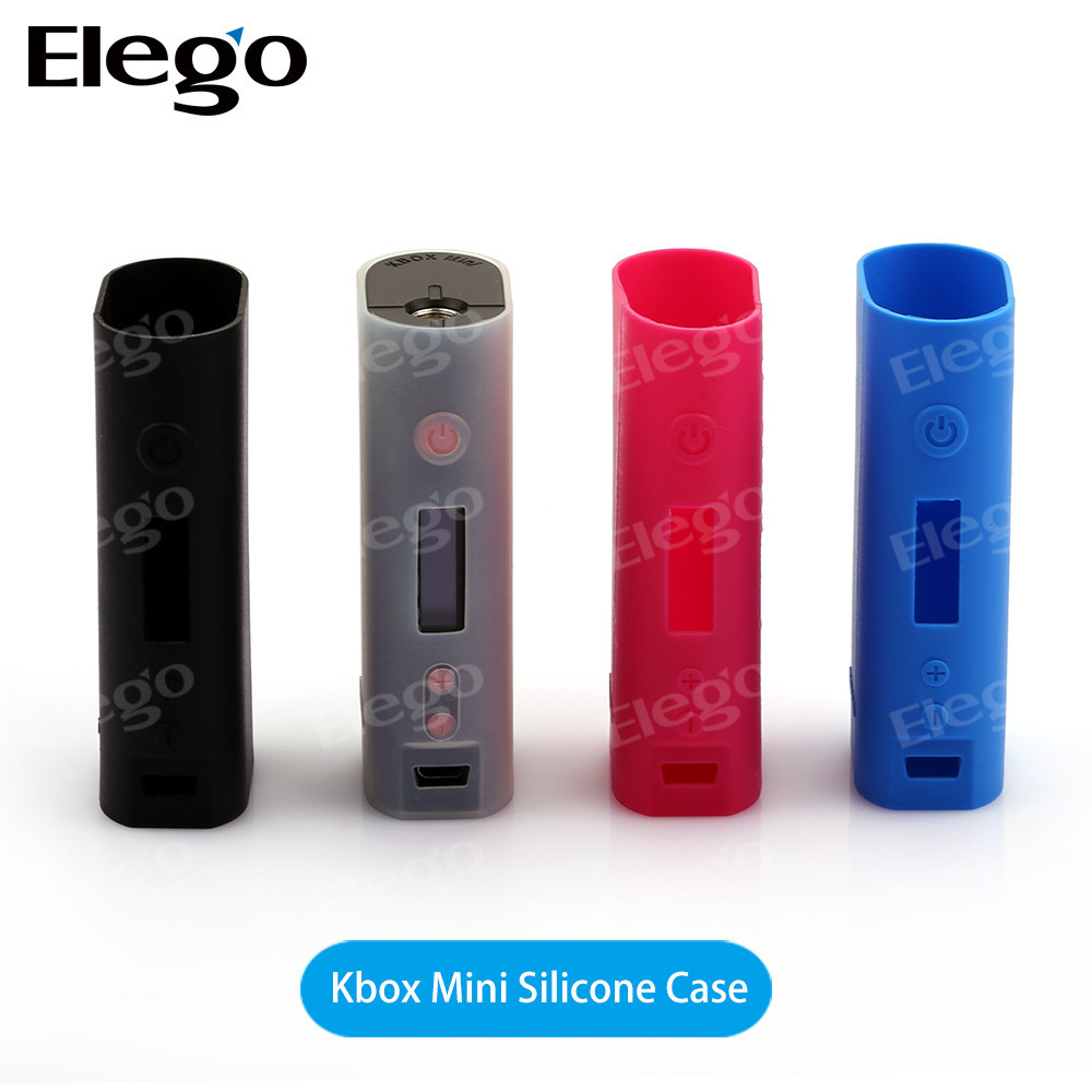 Black/white/blue/pink kanger subox Mini Silicone Case for kangertech subox mini starter kit