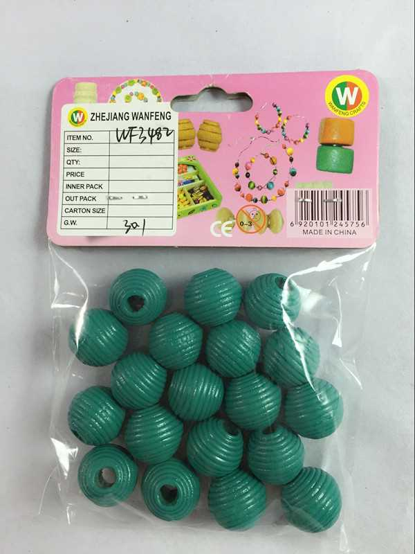 Wanfeng ODM factory wooden beads for wooden calander