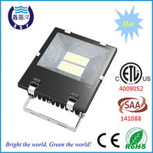 ETL SAA Certified Mean Well Driver 200w ip65 long range led flood light