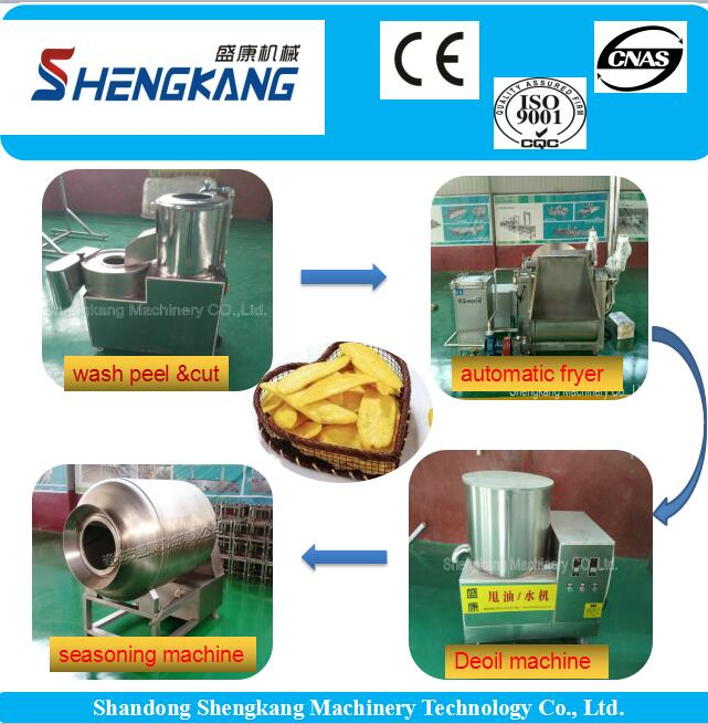 potato chips making machine/french fries,potato production line/potato processing machinery