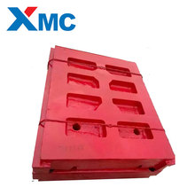 Mccloskey Jaw Crusher Fixed And Swing Movable Jaw Plate jaw Die Mn13%,Mn18%,Mn22%