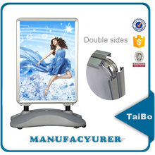 Wholesale A0 A1 poster frame, outdoor poster frames with water base