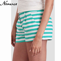 beach running Striped Shorts