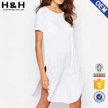 tshirt dress blank t-shirt dress white t shirt dress
