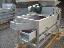 top quality almond shell processing machine almond sheller machine