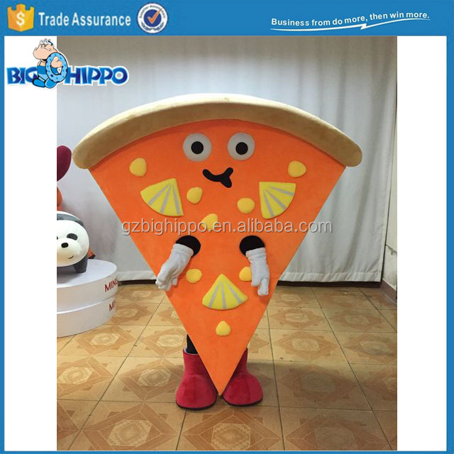 Customize Pizza Mascot Costume