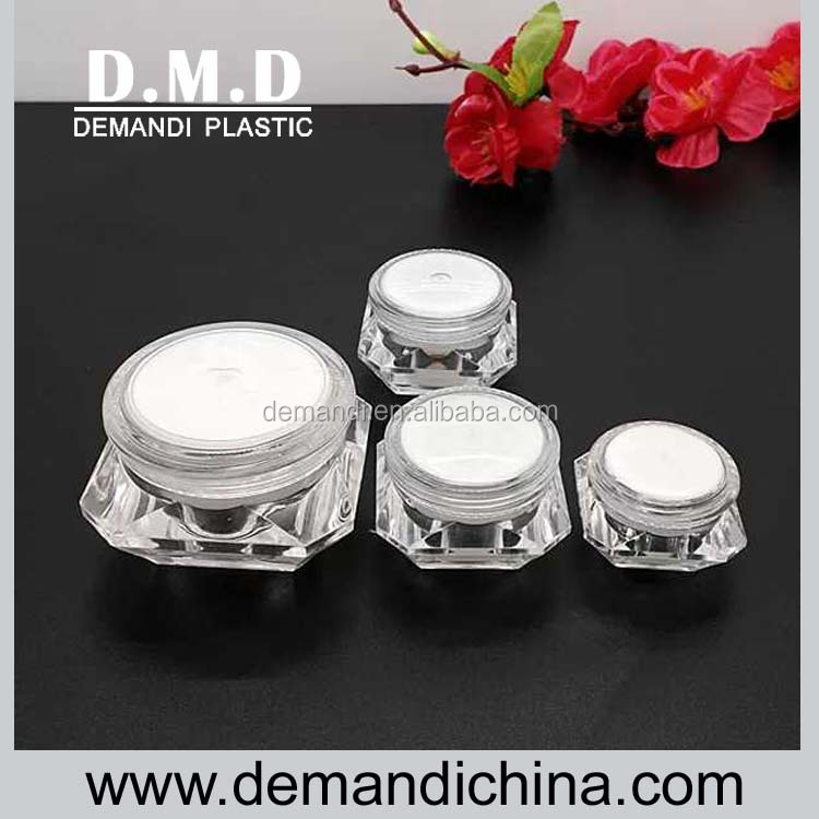 5g 10g 15g diamond shape cosmetic container
