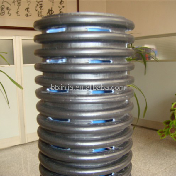 HDPE perforated corrugated drainage pipe