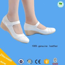 Wholesale Nurse Shoes With Wedge Heels 100% Genuine Leather