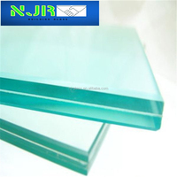 6+1.14pvb+6mm clear tempered laminated glass