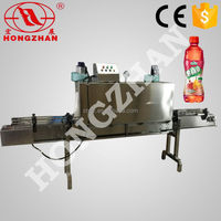GP403 plastic beverage water juice bottles label bottle packaging shrink wrap machine