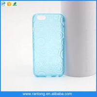 mobile phone accessories sublimation tpu phone case for iphone 5