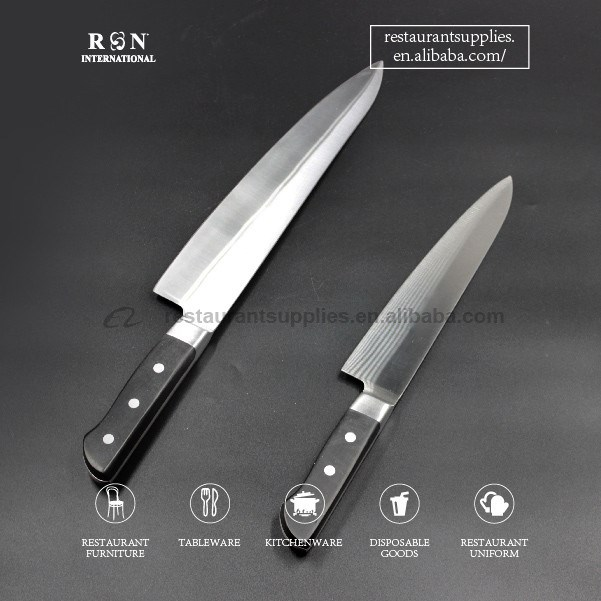 Stainless Steel Chef Knife Kitchen Knife Sushi & Sashimi Knife For Japanese Restaurant