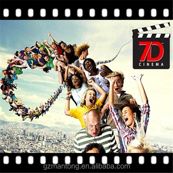 Animation 5D cinema movie, 5D thriller motion films, 5D horror movies supplier