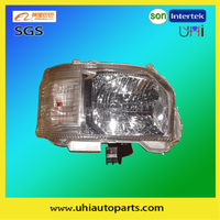 van body/spare parts accessories---2014 hiace headlight assembly electric white RHD(LHD)