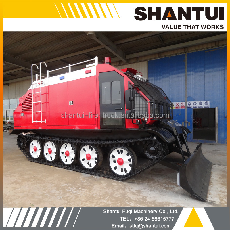 Tracked Fire - Fighting Vehicle