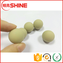 Food Grade PU Silicone Rubber Ball accepted custom Centre 1mm Hole