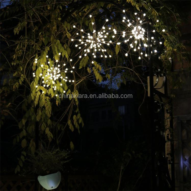 Factory Supply Home Decoration Warm White Led Starburst Lights