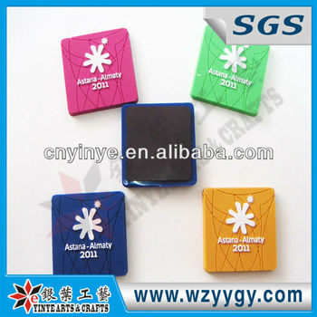 Colorful Promo PVC Fridge Magnet from China