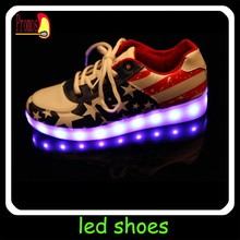 Most popular energy decorated production white soft large high waterproof led shoes clip led strip for boys