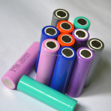 2000 / 2200 / 2400 / 2600 mAh 18650 Cylindrical Lithium-ion battery