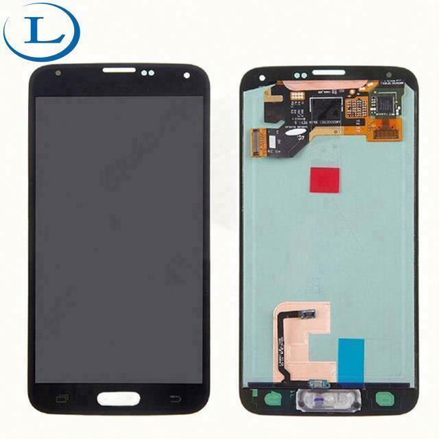 Blu cell phone spare parts mobile lcd screen for S5,touch screen digitizer replacement for galaxy s5