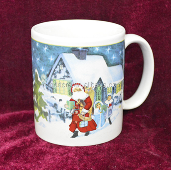 Fancy Christmas Gift 11oz White sublimation ceramic mug
