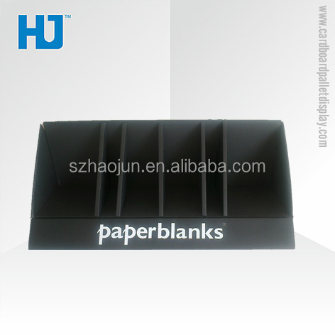 Cheap paper display box/blank cardboard display box for booklet