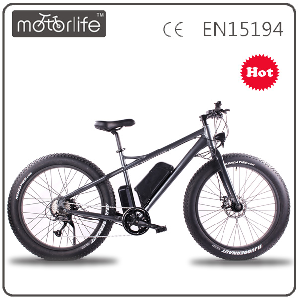 MOTORLIFE/SEB-1 Fat tire 48v 1000w green power electric motor bike, new snow ebike
