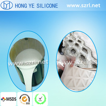 RTV liquid silicone rubber for cement mold making