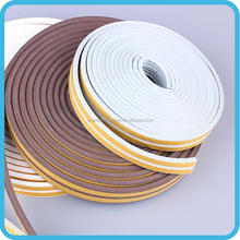 Easy stick high-efficiency door window rubber sponge seal strip
