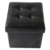 Folding furniture Home  Shoe Storage Pouf Living Sofa Mirrored Ottoman  with storage