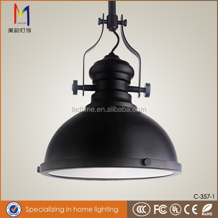 high quality frosted glass pendant light, fancy iron pendant lights