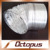 Double layer Aluminum foil Flexible Ducts,Exhaust Flexible Ducts,Ducts for A/C Systems