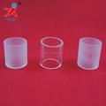 mini frosted pyrex borosilicate glass tube for sale