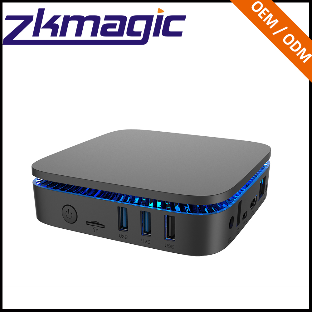 Mini PC 2GB 32GB BT include Mutil-languages TV Box with HDD