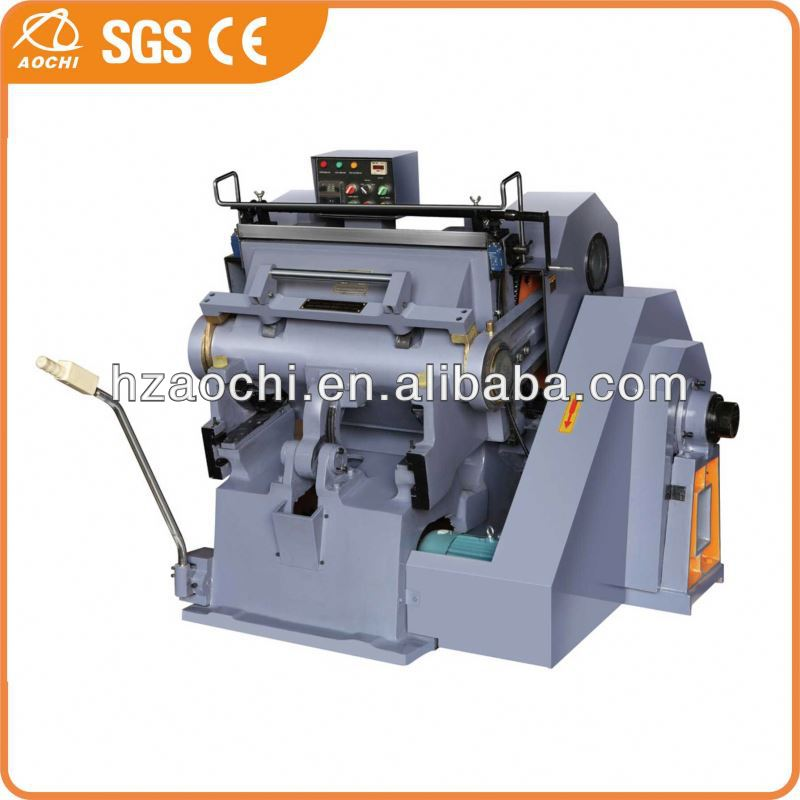 Semi-automatic die cutter manual with CE