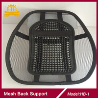 Car seat mesh backrest cushion, lumbar back support cushion