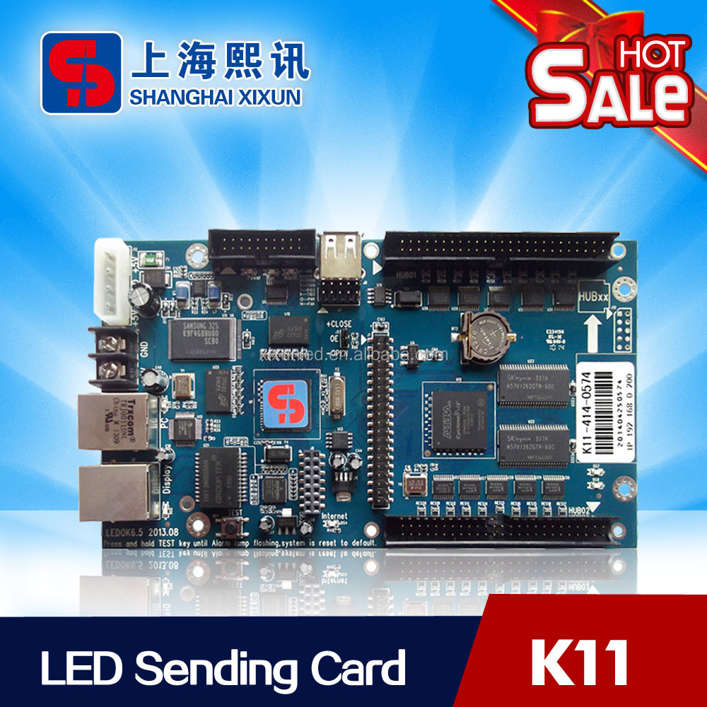 Asynchronous Control Card Xixun <strong>K11</strong> For Led Advertising Billboard Double Sided Sign