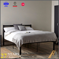 modern powder coating metal bed double