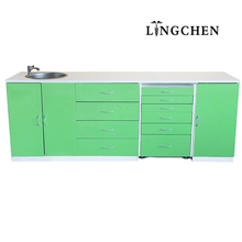 Health Medical Devices Dental instrument clinic furniture customized dental drawer cabinet